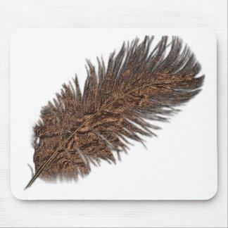 Colección de cobre de la pluma alfombrillas de ratón