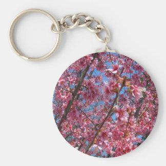 Colección de CricketDiane de los árboles florecien Llavero Redondo Tipo Pin