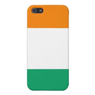 (Colección de encargo de Africankoko) Cote D'Ivoir iPhone 5 Funda