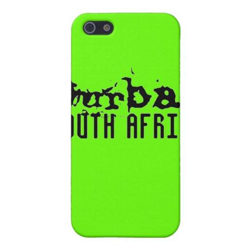 Colección de encargo de Africankoko (Durban, Suráf iPhone 5 Cárcasa