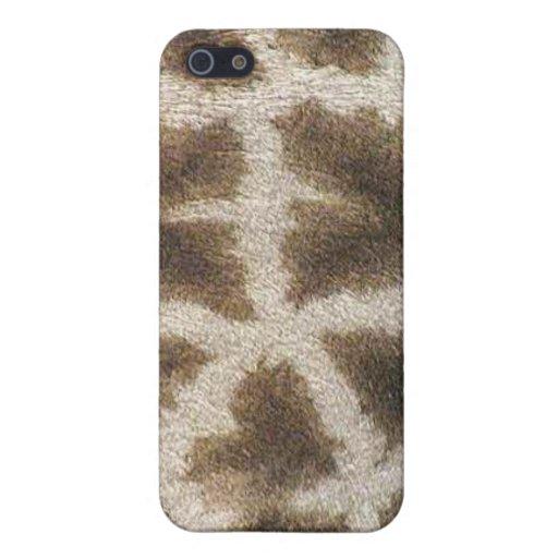 Colección de encargo de Africankoko (jirafa) iPhone 5 Funda