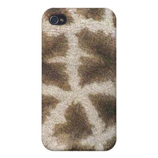 Colección de encargo de Africankoko (jirafa) iPhone 4 Funda