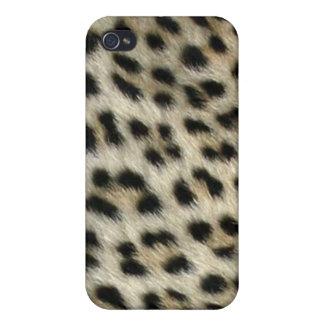 Colección de encargo de Africankoko (leopardskin, iPhone 4 Coberturas