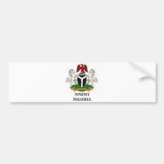 Colección de encargo de Africankoko (Nigeria) Pegatina De Parachoque