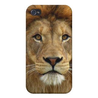 Colección de encargo de Africankoko (piel del león iPhone 4/4S Carcasa