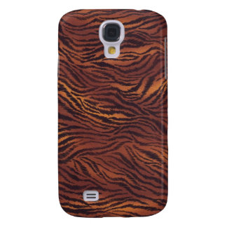 Colección de encargo de Africankoko (piel del tigr Funda Para Galaxy S4