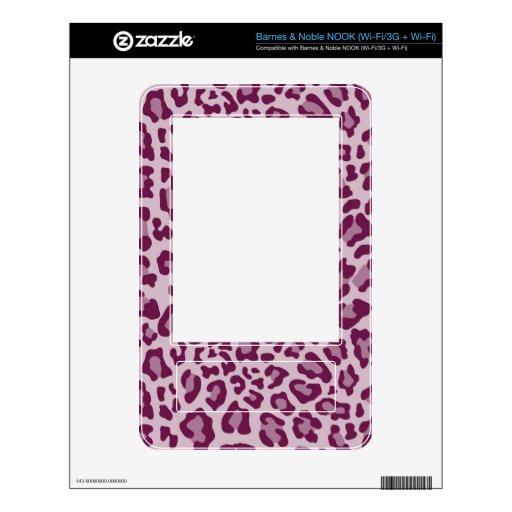 Colección de estampado leopardo del arco iris - fu skins para elNOOK