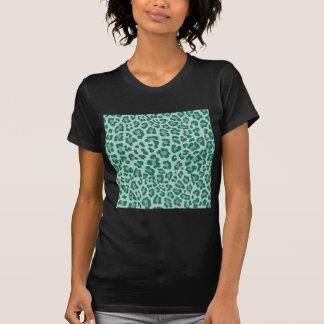 Colección de estampado leopardo del arco iris - playera