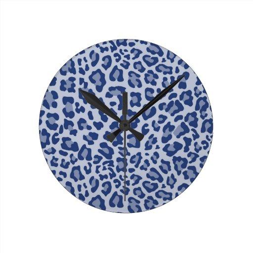 Colección de estampado leopardo del arco iris - pr relojes