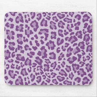 Colección de estampado leopardo del arco iris - pú tapetes de ratón