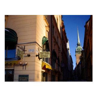 Colección de Gamla Stan Estocolmo Postal
