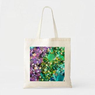 Colección de gotas brillantes coloridas bolsa tela barata