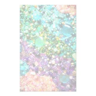 Colección de gotas coloridas papeleria de diseño