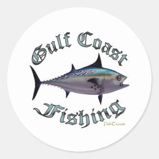 Colección de GulfCoast por FishTs.com Pegatinas Redondas