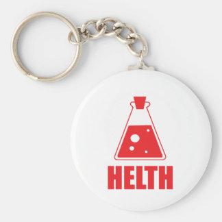 Colección de Helth por diseño del druida Llavero Personalizado