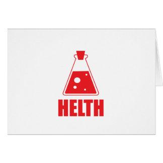 Colección de Helth por diseño del druida Felicitaciones