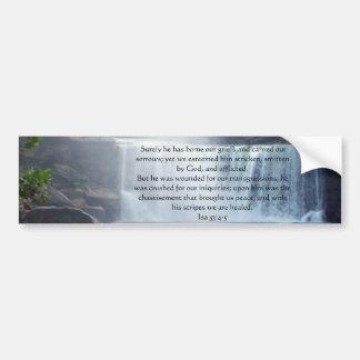 Colección de Isaías 53 Etiqueta De Parachoque