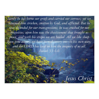 Colección de Isaías 53 Posters