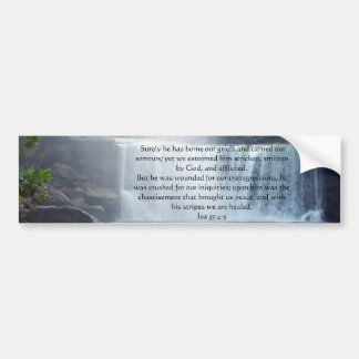 Colección de Isaías 53 Pegatina Para Auto