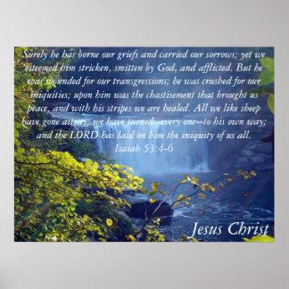 Colección de Isaías 53 Póster