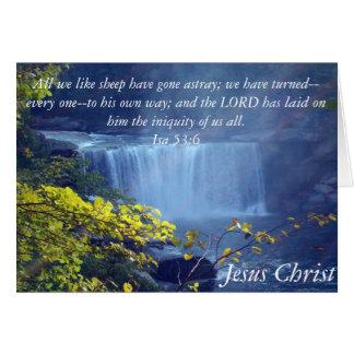 Colección de Isaías 53 Felicitacion