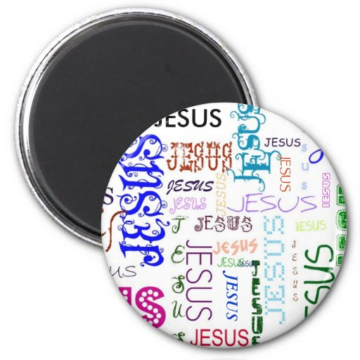 Colección de Jesús Imán Redondo 5 Cm