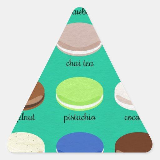 Colección de la alegría del panadero: Francés Calcomania De Triangulo Personalizadas