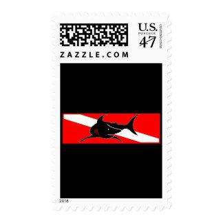 Colección de la bandera de la zambullida sellos