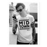 Colección de la ciudad del Midtown por la ropa del Tarjeta Postal