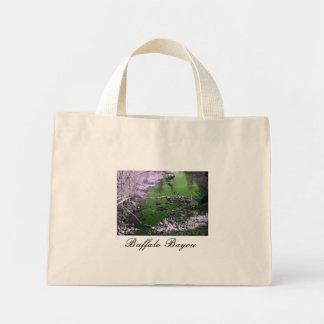 Colección de la ciudad del pantano bolsa tela pequeña