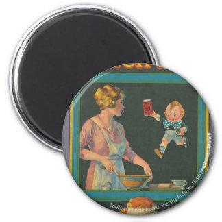 Colección de la cocina de McIntosh Imán Redondo 5 Cm