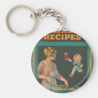 Colección de la cocina de McIntosh Llavero Redondo Tipo Pin