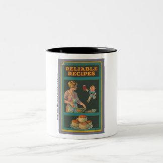 Colección de la cocina de McIntosh Taza De Dos Tonos