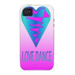 Colección de la danza del amor iPhone 4 fundas