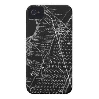 Colección de la exposición de los MAPAS: Manos iPhone 4 Case-Mate Cárcasa