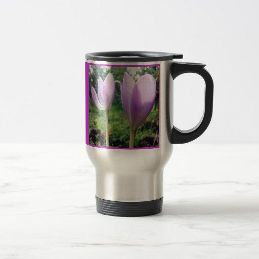 Colección de la flor de mi esposa taza