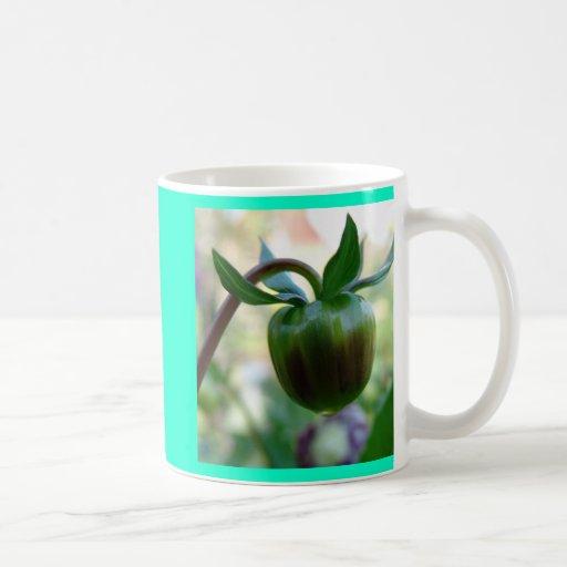 Colección de la flor de mi esposa taza de café