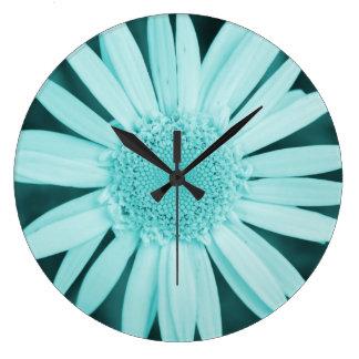Colección de la flor - reloj de pared de la