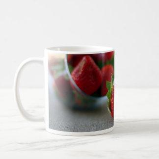 Colección de la fresa del verano tazas
