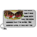 Colección de la hamburguesa sistema altavoz