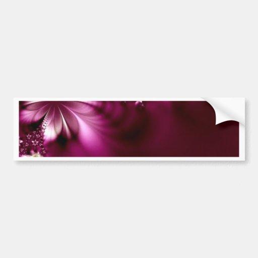 Colección de la mandala del boda de la flor de la  etiqueta de parachoque