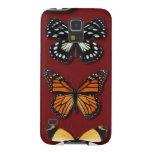 Colección de la mariposa carcasas de galaxy s5