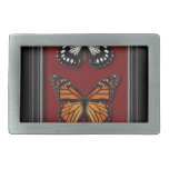 Colección de la mariposa hebillas de cinturón rectangulares