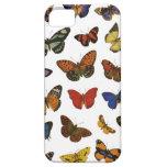 Colección de la mariposa iPhone 5 funda