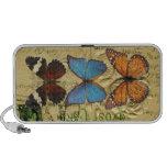 Colección de la mariposa iPhone altavoz