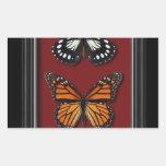 Colección de la mariposa rectangular altavoces