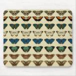 Colección de la mariposa tapetes de raton