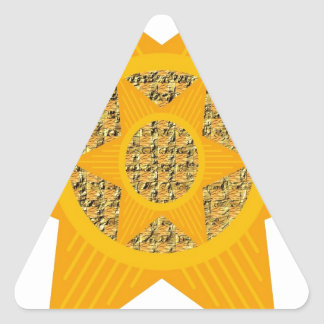 Colección de la matriz de la foto de Reesa Pegatina De Trianguladas