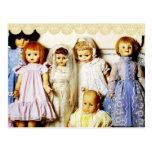 Colección de la muñeca postales