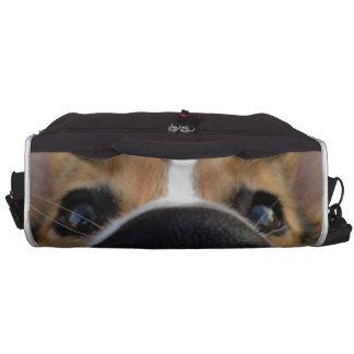 Colección de la nariz de perro del Corgi Galés Bolsas Para Portátil